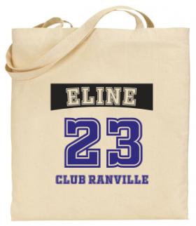 Tote Bag Edition Sport - Mod. 17 - Cadeau personnalise personnalisable - 1