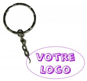 x Porte Clef LOGO - Cadeau personnalise personnalisable - 1