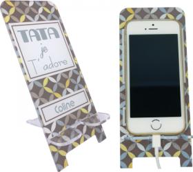 Support Téléphone Tata Je t'adore - Mod.7 - Cadeau personnalise personnalisable - 1
