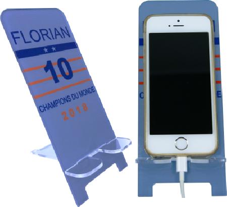 Support Téléphone Coupe du Monde - Mod.10 - Cadeau personnalise personnalisable - 1