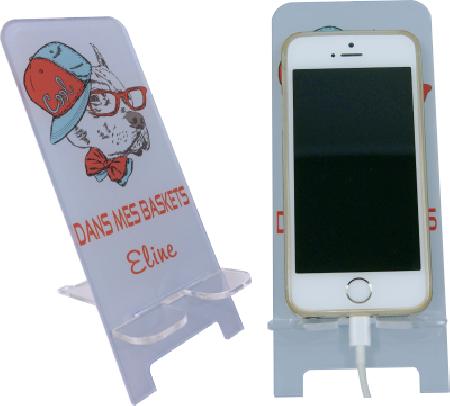 Support Téléphone Cool dans mes Baskets - Mod.12 - Cadeau personnalise personnalisable - 1