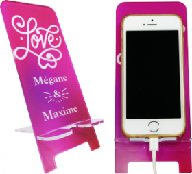 Support Téléphone - Mod.SvM - Cadeau personnalise personnalisable - 1