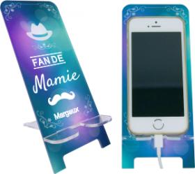 Support Téléphone - Fan de Mamie - Mod.3 - Cadeau personnalise personnalisable - 1
