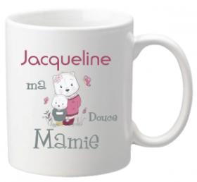 .Mug ma douce Mamie Mod.63 - Cadeau personnalise personnalisable - 1