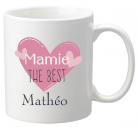 .Mug Mamie The Best Mod.67 - Cadeau personnalise personnalisable - 1