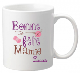 .Mug Bonne Fête Mamie Mod.69 - Cadeau personnalise personnalisable - 1