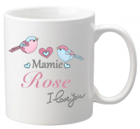 .Mug I love you Mamie Mod.71 - Cadeau personnalise personnalisable - 1