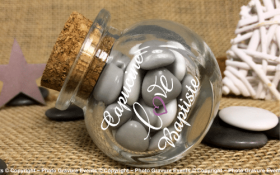 Bonbonnière mod.5 - Boite à dragées - Cadeau personnalise personnalisable - 1