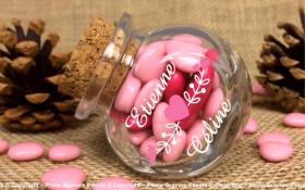 Bonbonnière mod.6 - Boite à dragées - Cadeau personnalise personnalisable - 1