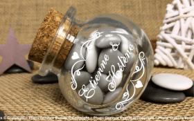 Bonbonnière mod.7 - Boite à dragées - Cadeau personnalise personnalisable - 1