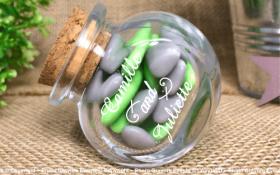 Bonbonnière mod.9 - Boite à dragées - Cadeau personnalise personnalisable - 1