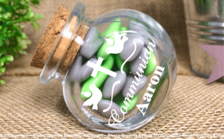 Bonbonnière mod.1. - Boite à dragées - Cadeau personnalise personnalisable - 1