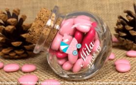 Bonbonnière mod.20 - Boite à dragées - Cadeau personnalise personnalisable - 1