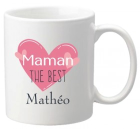 Mug Maman the best (ref.67) - Cadeau personnalise personnalisable - 1