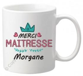 Mug Maîtresse (mod.72) - Cadeau personnalise personnalisable - 1