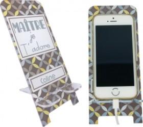 Support Téléphone Maître Je t'adore - Mod.7 - Cadeau personnalise personnalisable - 1