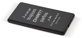 ..Batterie de Téléphone Externe - Toujours Chiant - Cadeau personnalise personnalisable - 1