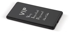 Batterie de Téléphone Externe - VIP - Cadeau personnalise personnalisable - 1