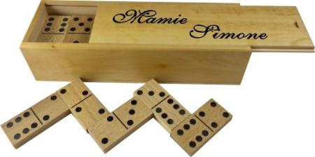 Boite à Dominos (mod1) - Cadeau personnalise personnalisable - 1