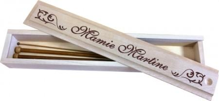 . Boite à Aiguilles (mod1) - Cadeau personnalise personnalisable - 1