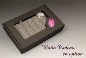 Poème Parrain - Mod. Calice - Cadeau personnalise personnalisable - 2