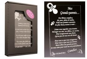 Poème Mes Grands Parents - Mod.Tototte - Cadeau personnalise personnalisable - 1
