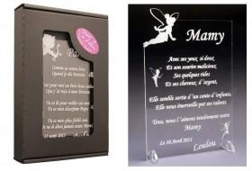 Poème Mamy - Mod. Fée Gravure Events - Cadeau personnalisé - 1