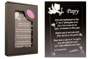 Poème Papy - Mod. Ange Gravure Events - Cadeau personnalisé - 1