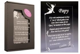 Poème Papy - Mod. Fée - Cadeau personnalise personnalisable - 1