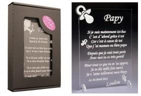 Poème Papy - Mod. Tototte Gravure Events - Cadeau personnalisé - 1