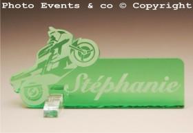 Marque Place Moto de course Gravure Events - Cadeau personnalisé - 11