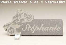Marque Place Moto de course Gravure Events - Cadeau personnalisé - 3