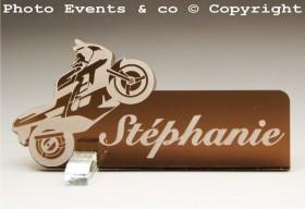 Marque Place Moto de course Gravure Events - Cadeau personnalisé - 6