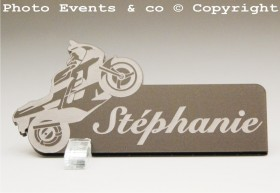 Marque Place Moto de course Gravure Events - Cadeau personnalisé - 8