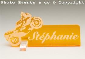 Marque Place Moto de course Gravure Events - Cadeau personnalisé - 12