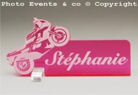 Marque Place Moto de course Gravure Events - Cadeau personnalisé - 7