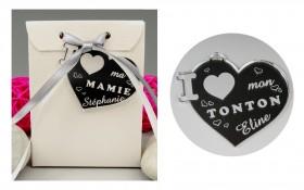 Boite de Chocolat - Médaille Tonton - Mod.Cœur.Seul - Cadeau personnalise personnalisable - 1
