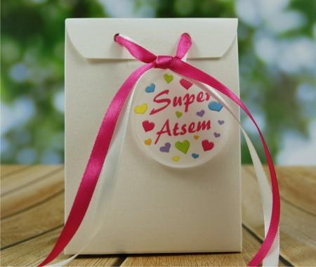 Boite de Chocolat - Super ATSEM - Cadeau personnalise personnalisable - 1