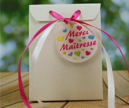 .Boîte de Chocolat - Merci maîtresse BtEcG - Cadeau personnalise personnalisable - 1