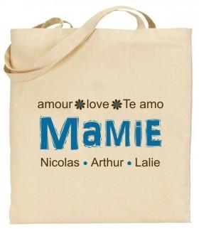 Tote Bag Mamie - Modèle 6 - Cadeau personnalise personnalisable - 1