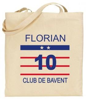 Tote Bag Foot - Mod. 18 Gravure Events - Cadeau personnalisé - 1