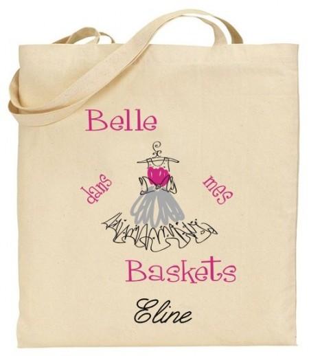 Tote Bag Robe - Mod. 16 Gravure Events - Cadeau personnalisé - 1