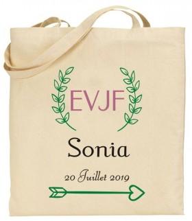 Tote Bag EVJF - Mod.20 Gravure Events - Cadeau personnalisé - 1