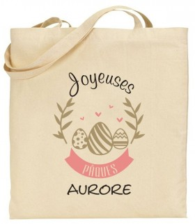 Tote Bag Pâques Mod.22 - Cadeau personnalise personnalisable - 1