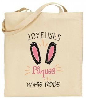 Tote Bag Pâques Mod.23 - Cadeau personnalise personnalisable - 1