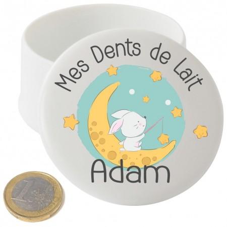 Boite à Dents de Lait en Porcelaine (mod.5) Gravure Events - Cadeau personnalisé - 1