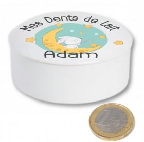Boite à Dents de Lait en Porcelaine (mod.5) Gravure Events - Cadeau personnalisé - 3