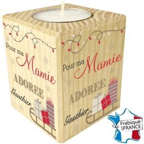 Porte Bougie personnalisable Mamie (mod6) Gravure Events - Cadeau personnalisé - 1