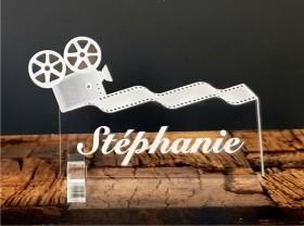 Marque Place Cinéma - Caméra - Cadeau personnalise personnalisable - 1