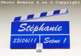 Marque Place Cinéma 3 - Clap - Cadeau personnalise personnalisable - 5